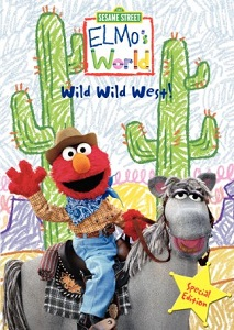 Elmo's World Wild Wild West DVD
