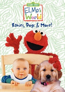 Elmo World Babies Dog More DVD