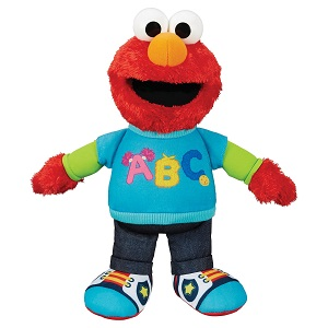 Playskool Friends Sesame Street Talking, Singing ABC Elmo Doll for children 18 months to 4 years.