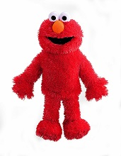Sesame Street Full Body Elmo Hand Puppet in Red